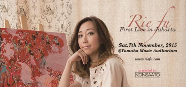 Rie fu Performing in Jakarta for the First Time