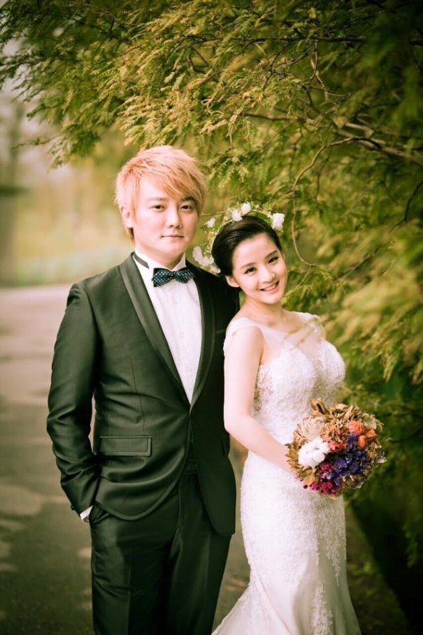 F.I.R.'s Real Huang Holds Intimate Wedding Ceremony