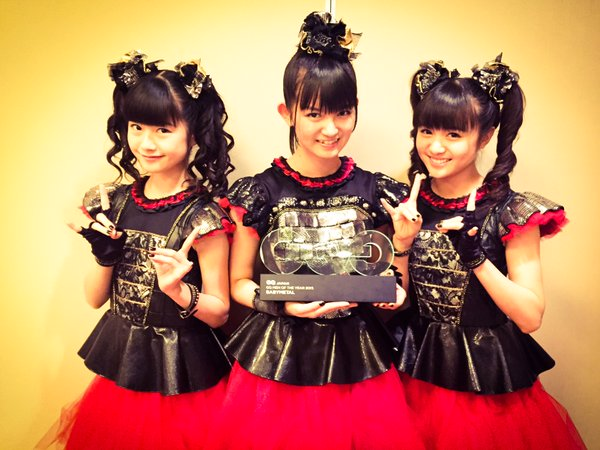 """BABYMETAL Wins """"GQ Men of the Year 2015"""" Special Award"""