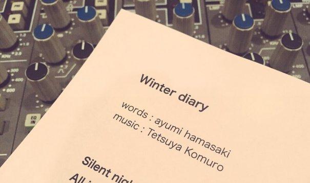 """Ayumi Hamasaki Teases New Song """"Winter diary"""""""