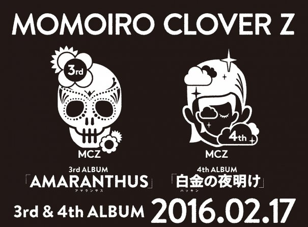 [Jpop] Further Details on Momoiro Clover Z's Upcoming Albums Unveiled