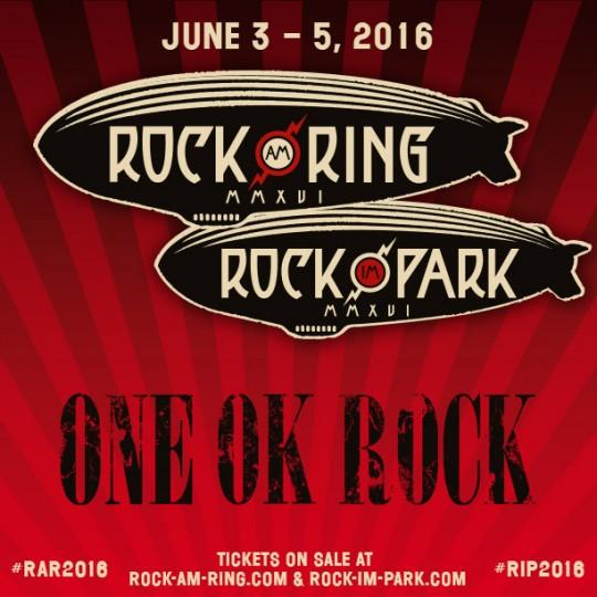 ONE OK ROCK Joins Germany's Rock am Ring & Rock im Park Festivals