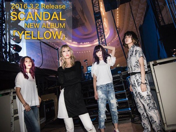 [Jpop] SCANDAL Announces 7th Studio Album