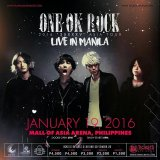 [Giveaway] Win Free Tickets to ONE OK ROCK Live in Manila!