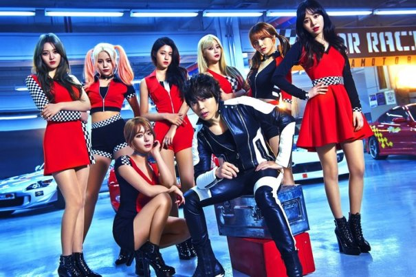 AOA Collaborates with T.M.Revolution for New Japanese Single