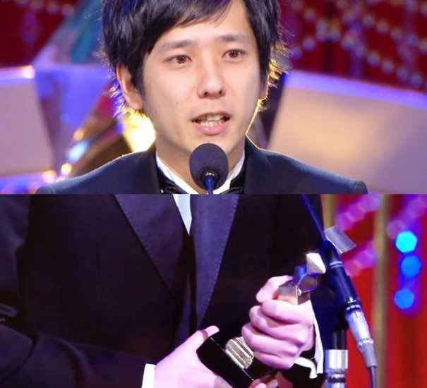 [Jpop] Arashi's Kazunari Ninomiya Wins Best Actor Award in 39th Japan Academy Prize