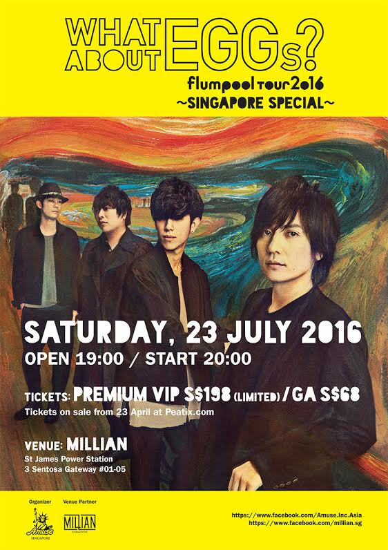 flumpool to Hold Special Singapore Live for New Album Release