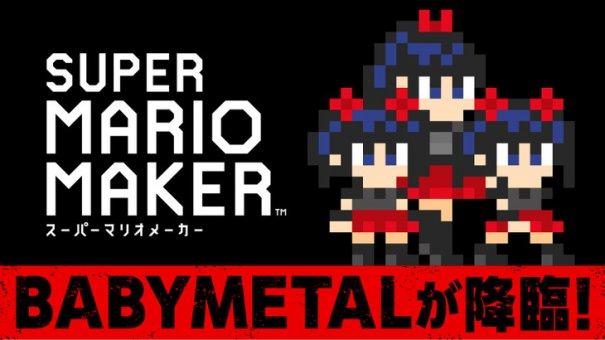 [Jrock] BABYMETAL Inspires Super Mario Maker Character