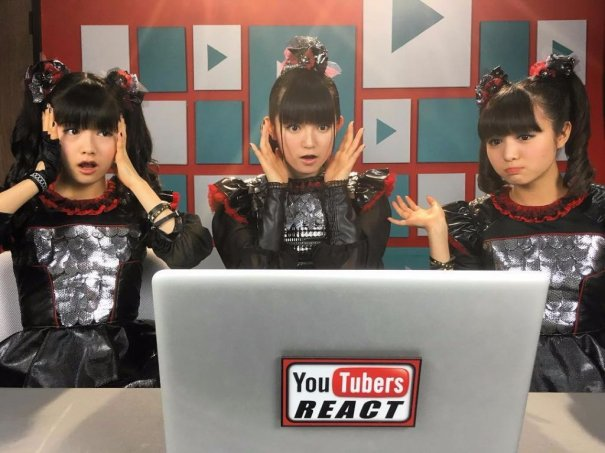 [Jrock] BABYMETAL Reacts to YouTubers React to BABYMETAL