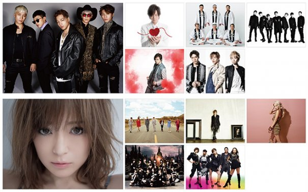"BIGBANG & Ayumi Hamasaki Appear as Headliners on ""a-nation"" Festival"