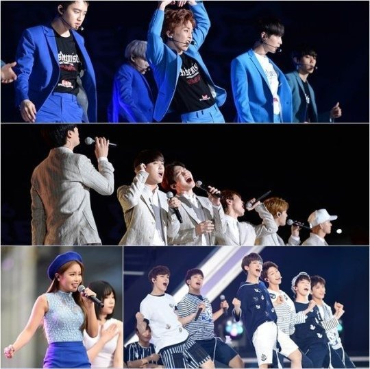 [Kpop] EXO Headlined Dream Concert, Newbies from Seventeen to Red Velvet Did Great Performance