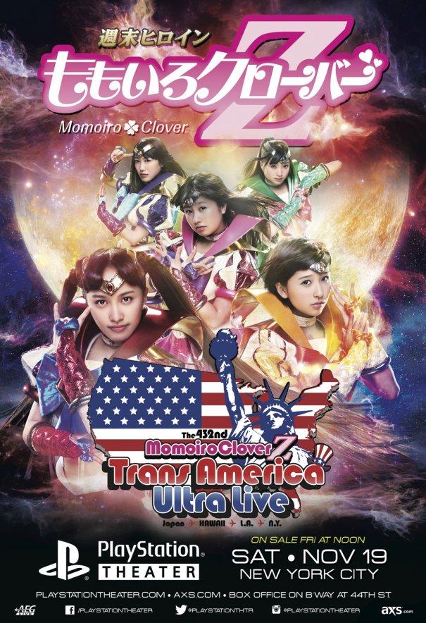 [Jpop] Momoiro Clover Z Announces US Tour Dates & Venues