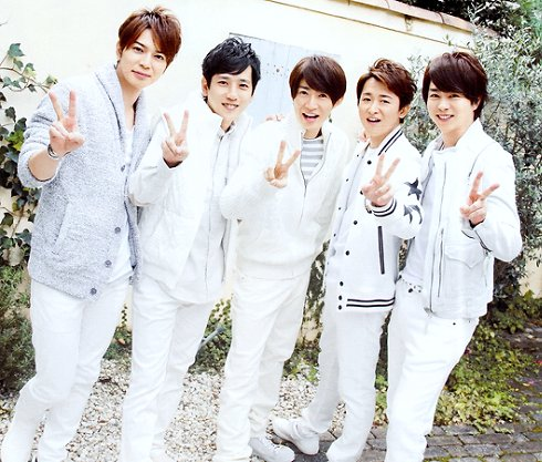 Arashi Announces 50th Single