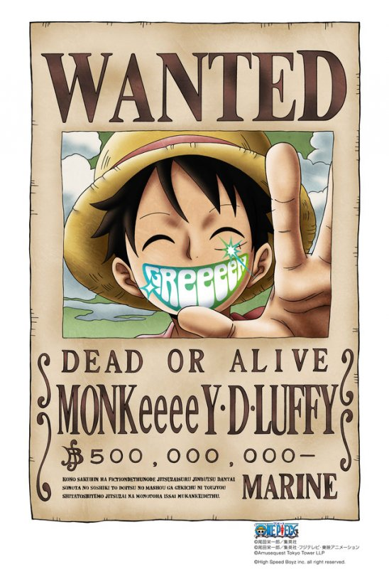 GReeeeN To Provide Music For One Piece Live Show