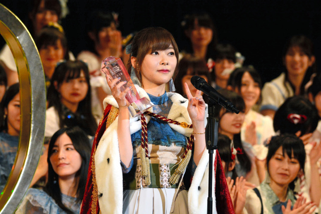 Rino Sashihara Wins 3rd Consecutive Senbatsu General Election