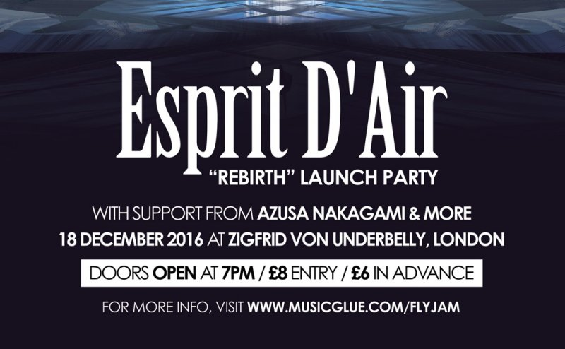 Esprit D'Air to Perform in London and Paris this December