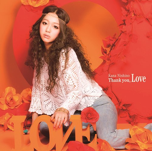 Album Thank you, Love by Kana Nishino