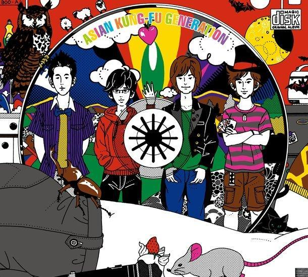 Album Magic Disk by ASIAN KUNG-FU GENERATION