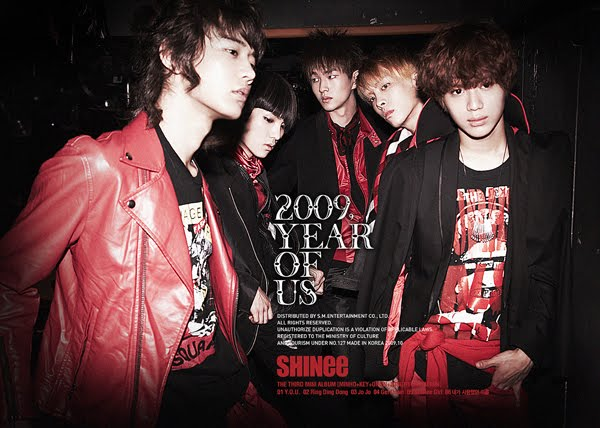 Mini album 2009, Year Of Us by SHINee