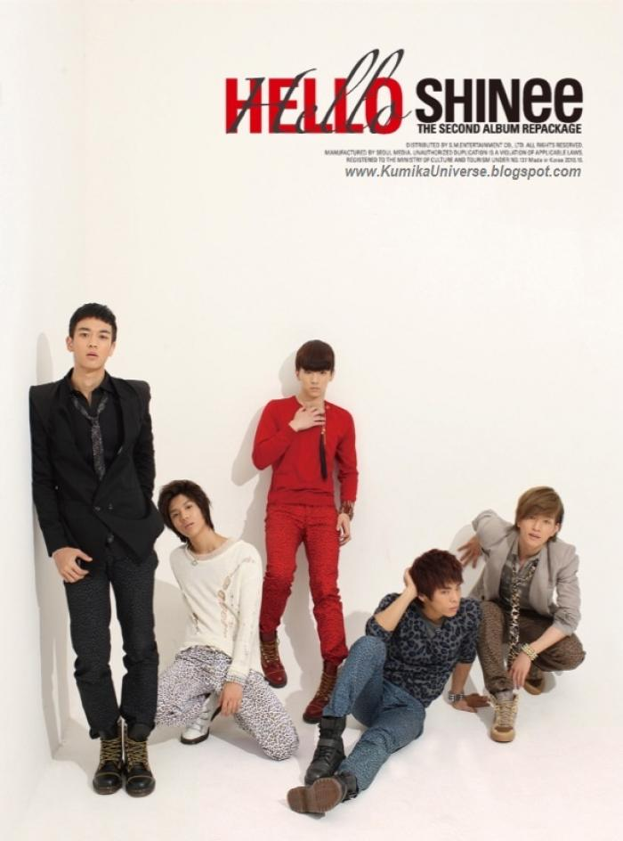 Mini album Hello by SHINee