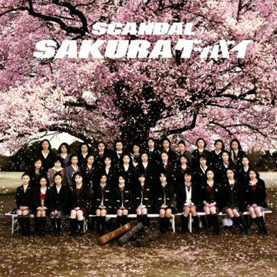 Single SAKURA Goodbye by SCANDAL