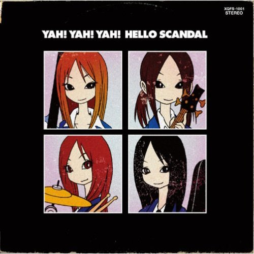 Mini album YAH! YAH! YAH! HELLO SCANDAL by SCANDAL