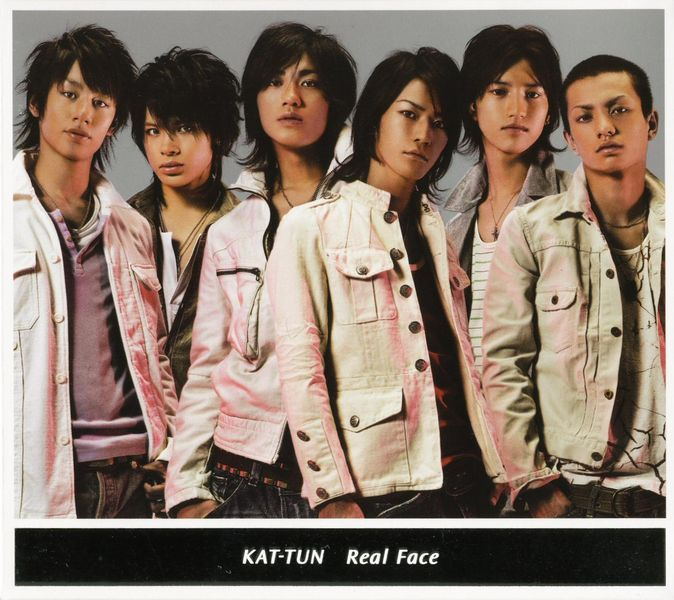 Single Real Face by KAT-TUN