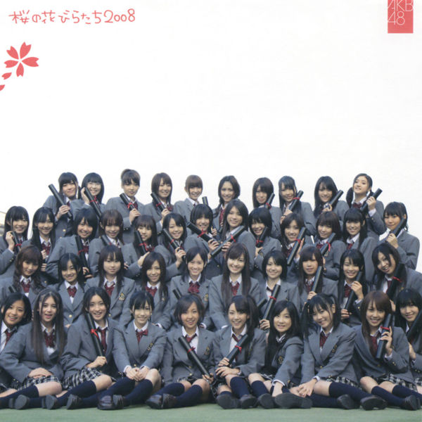 Single Sakura no hanabiratachi 2008 by AKB48