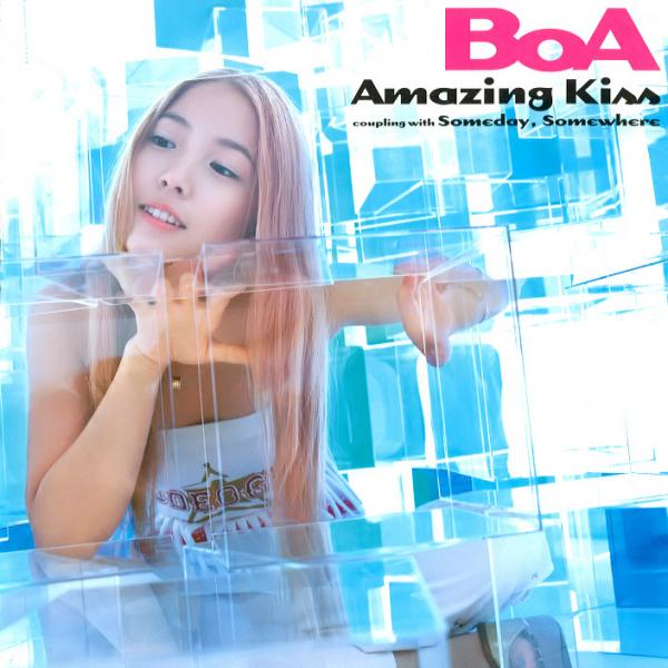 Single Amazing Kiss by BoA