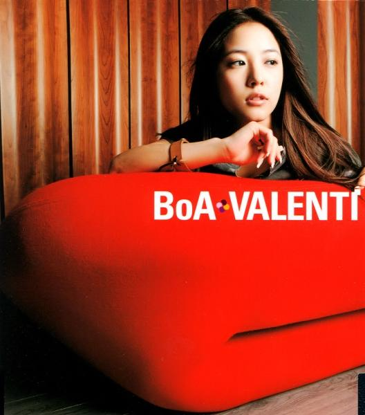 Single VALENTI by BoA