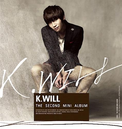Mini album Heartbeat by K.Will