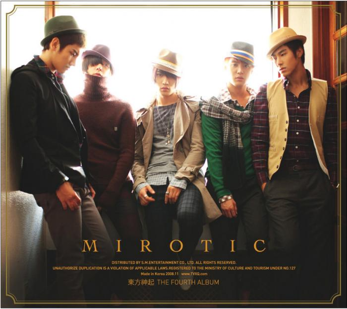 Album Mirotic by Tohoshinki