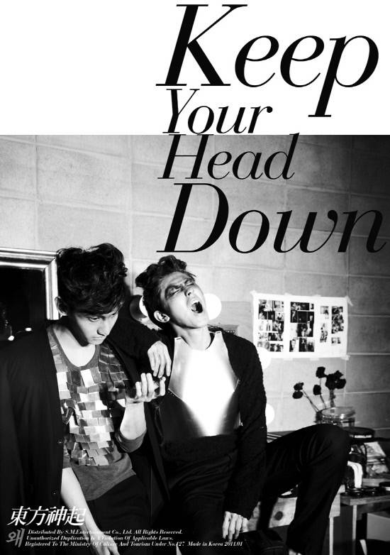 Album Keep Your Head Down by Tohoshinki