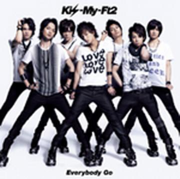 Single Everybody Go by Kis-My-Ft2