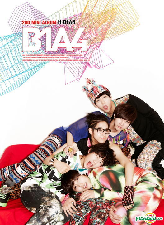 Mini album Its B1A4 by B1A4