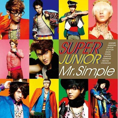 Single Mr.Simple (Japanese Ver.) by Super Junior