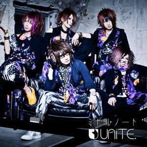 Single MIDDLE NOTE (ミドルノート) by UNiTE.