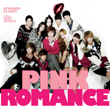 Single Pink Romance by Starship Planet