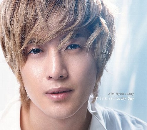 Single KISS KISS / Lucky Guy by Kim Hyun Joong