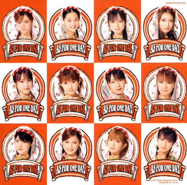 Single As for One Day by Morning Musume