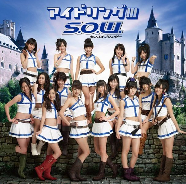Single S.O.W. Sense of Wonder (S.O.W. センスオブワンダー) by Idoling!!!