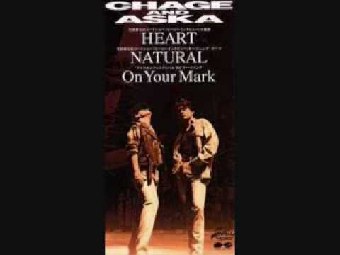 Single HEART / NATURAL / On Your Mark by CHAGE & ASKA