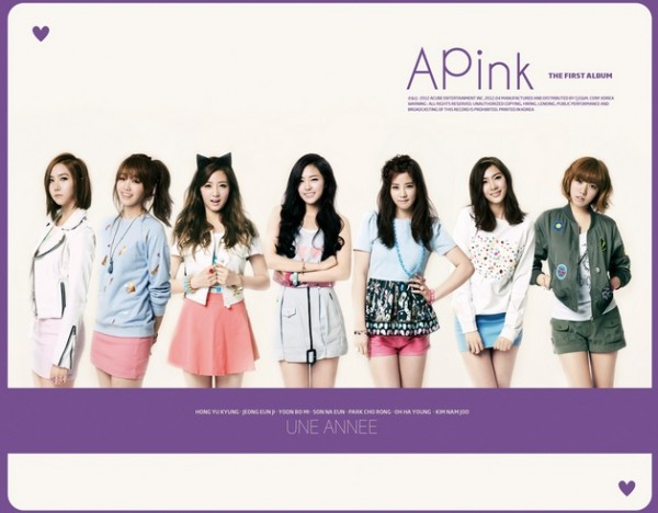Album Une Annee by APink