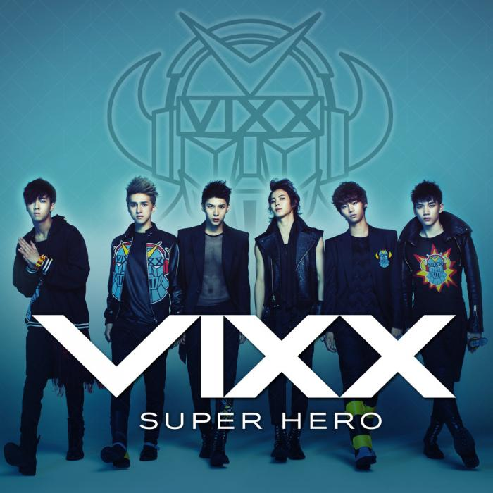 Single Super Hero by VIXX