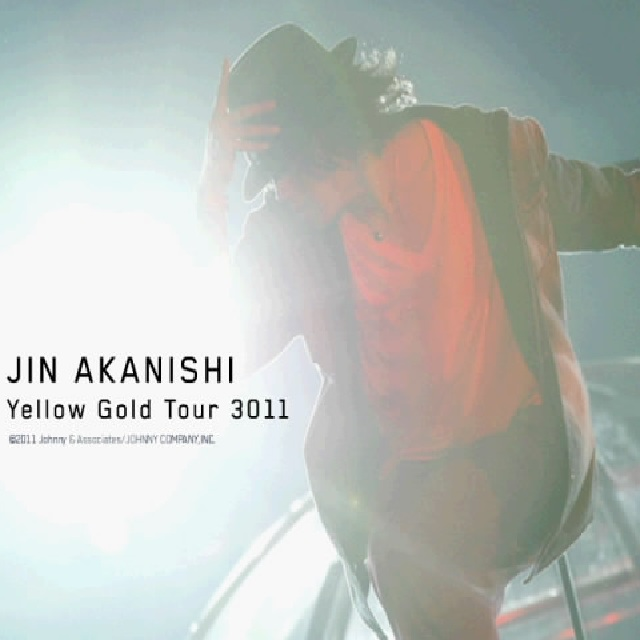 Album Yellow Gold Tour 3011 by Jin Akanishi