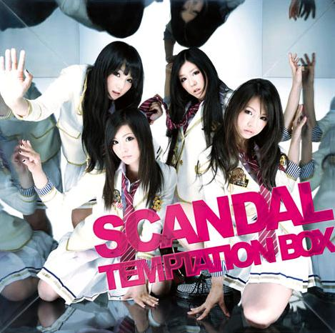 Album TEMPTATION BOX by SCANDAL