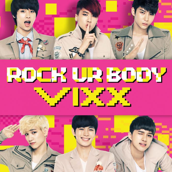 Single Rock Ur Body by VIXX