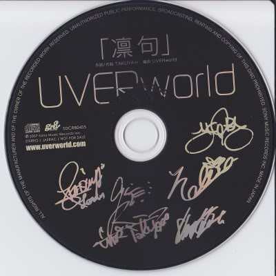 Single Rinku by UVERworld