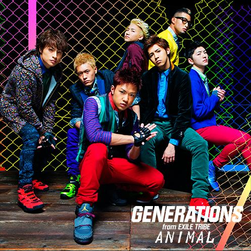 Single ANIMAL by GENERATIONS