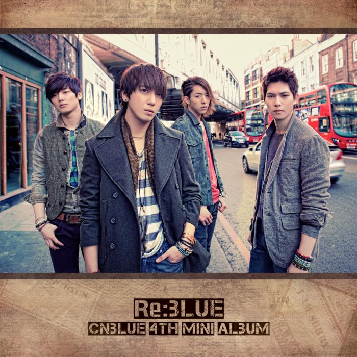 Mini album Re:BLUE by CNBLUE
